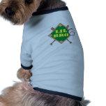 Poco diamante de béisbol de Bro Camiseta De Perro