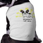 Poco dogo francés de la estrella camisetas mascota