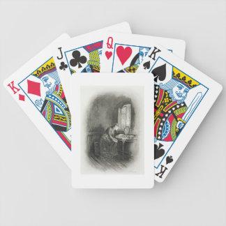 Poco Dorrit, de 'Charles Dickens: Un abo del chism Baraja Cartas De Poker