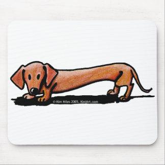 Poco Doxie rojo Mousepad
