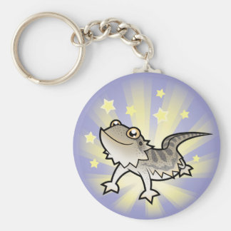 Poco dragón barbudo de la estrella dragón de Ranki Llaveros