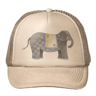 Poco elefante del circo gorras