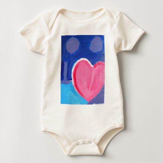 Poco entusiasta body para bebé