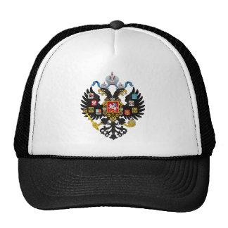 Poco escudo de armas del imperio ruso 1883 gorros bordados