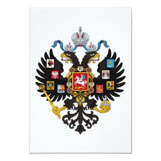 Poco escudo de armas del imperio ruso 1883 anuncio