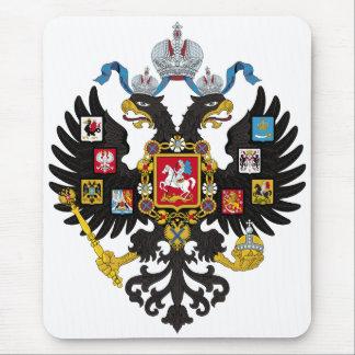 Poco escudo de armas del imperio ruso 1883 mousepad