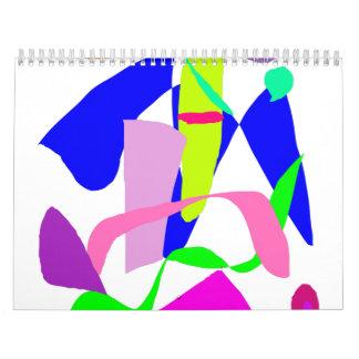 Poco fiesta de enfriamiento de la decoración de la calendarios de pared