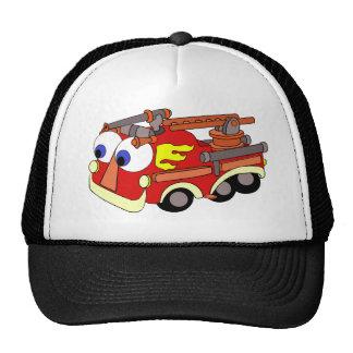 Poco Firetruck rojo Gorras De Camionero