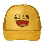 Poco firme divertido observó cualquier emoji gorra