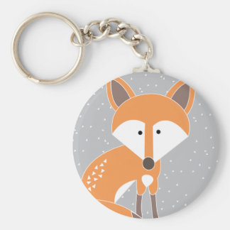 Poco Fox Llavero Redondo Tipo Pin