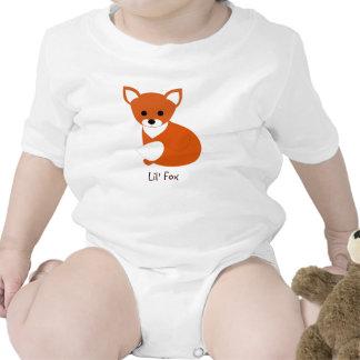 Poco Fox rojo Traje De Bebé