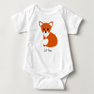 Poco Fox rojo Playeras