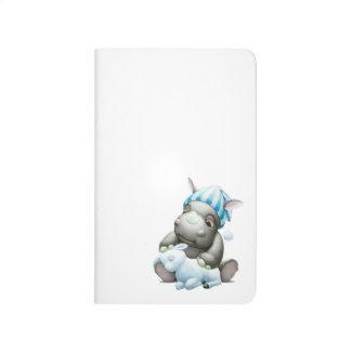 Poco G el diario del bolsillo del rinoceronte del Cuaderno