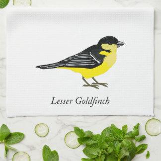 Poco goldfinch toalla de cocina