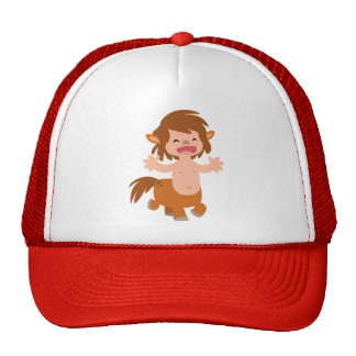 Poco gorra del Centaur del dibujo animado