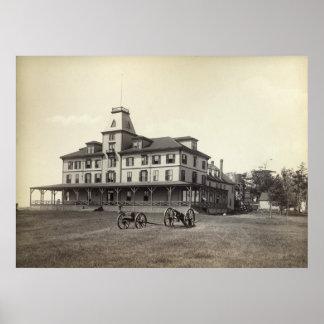Poco hotel de Waldo de la isla de Chebeague circa  Poster