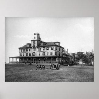 Poco hotel de Waldo de la isla de Chebeague circa  Impresiones