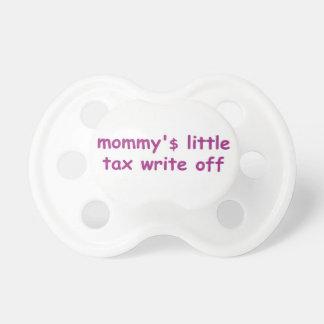 poco impuesto de mommy'$ escribe de pacificador chupetes para bebes
