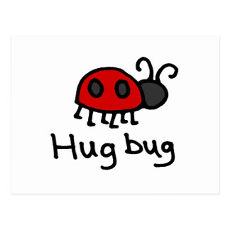 Poco insecto del abrazo postales