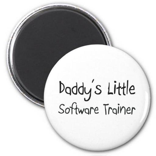 Poco instructor del software del papá imán de nevera