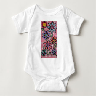 Poco jardín body para bebé