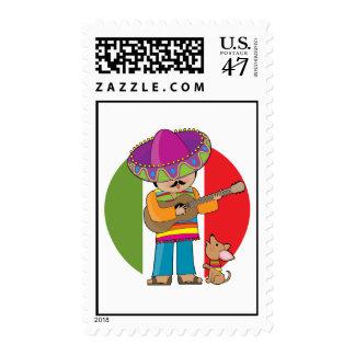 Poco México Timbre Postal