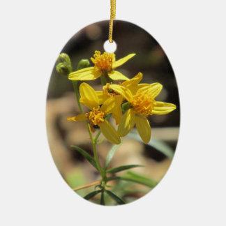 Poco ornamento de los Wildflowers de la cabeza del Ornamentos Para Reyes Magos