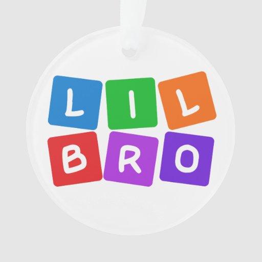 Poco ornamento del personalizado de Bro
