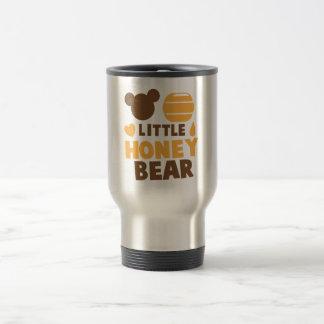 Poco oso de miel con el pote de la miel lindo