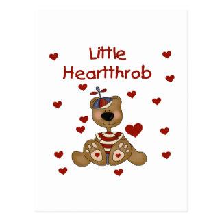Poco oso del muchacho de los rompecorazones tarjetas postales