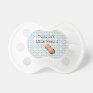 Poco pacificador del cacahuete de la mamá chupetes para bebés