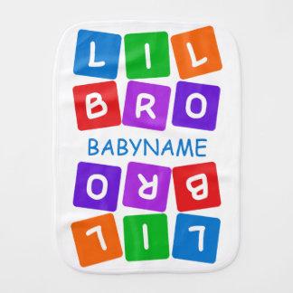 Poco paño de encargo del burp de Bro Paños Para Bebé