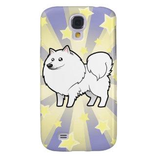 Poco perro esquimal americano de la estrella/perro samsung galaxy s4 cover