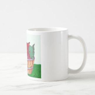 Poco Piggies por Piliero Tazas De Café