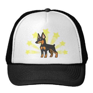 Poco Pinscher miniatura /Manchester Terrier de la  Gorros