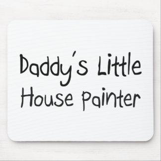 Poco pintor de la casa del papá alfombrilla de ratones