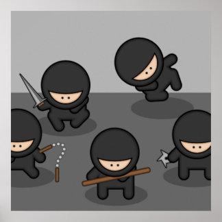 Poco poster de Ninjas