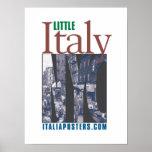 Poco poster del logotipo de Italia New York City