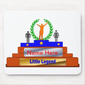 Poco premio de la leyenda. Personalizar con nombre Mouse Pad