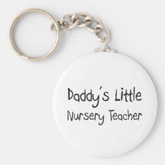 Poco profesor del cuarto de niños del papá llavero personalizado