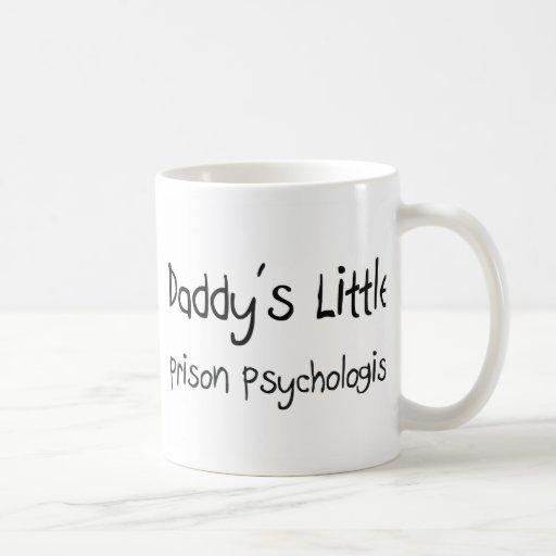 Poco psicólogo de la prisión del papá taza de café