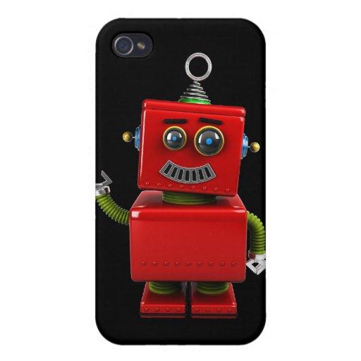 Poco robot iPhone 4/4S carcasas
