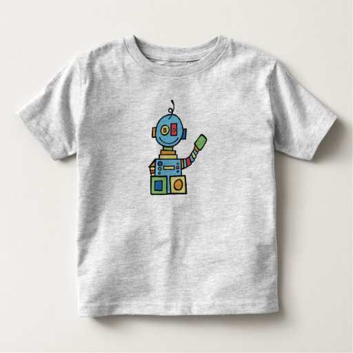 Poco robot playera de bebé