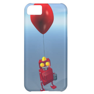 Poco robot rojo 1 del cumpleaños