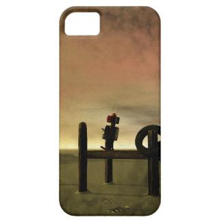 Poco robot rojo 2 iPhone 5 Case-Mate cobertura