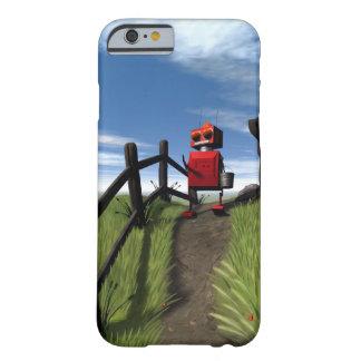 Poco robot rojo funda de iPhone 6 slim