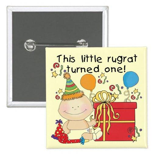 Poco Rugrat es camisetas y regalos de un cumpleaño Pin