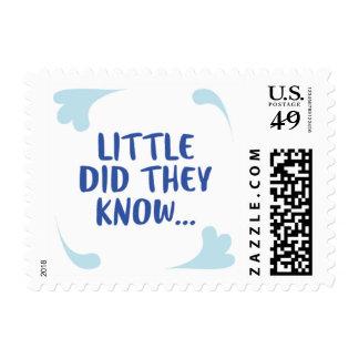 Poco sabían el sello