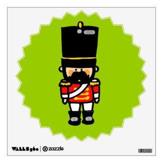 poco soldado de juguete lindo con el bigote