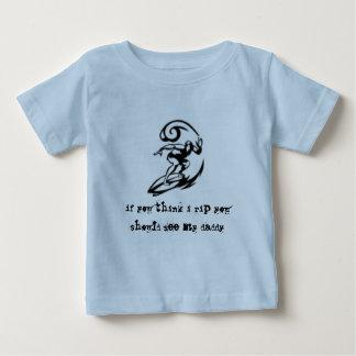 Poco t del bebé del destripador modificado para tshirts